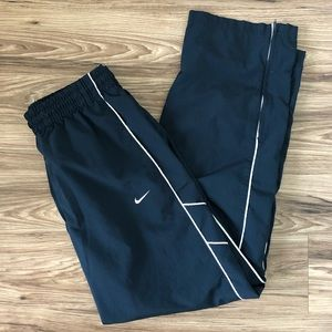 Nike Men's Navy/White Athletic Pants Size Large